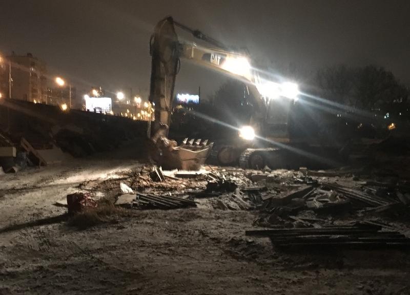 Демонтаж гаражей